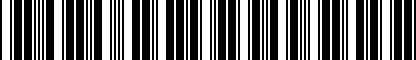 Barcode for DRG018974